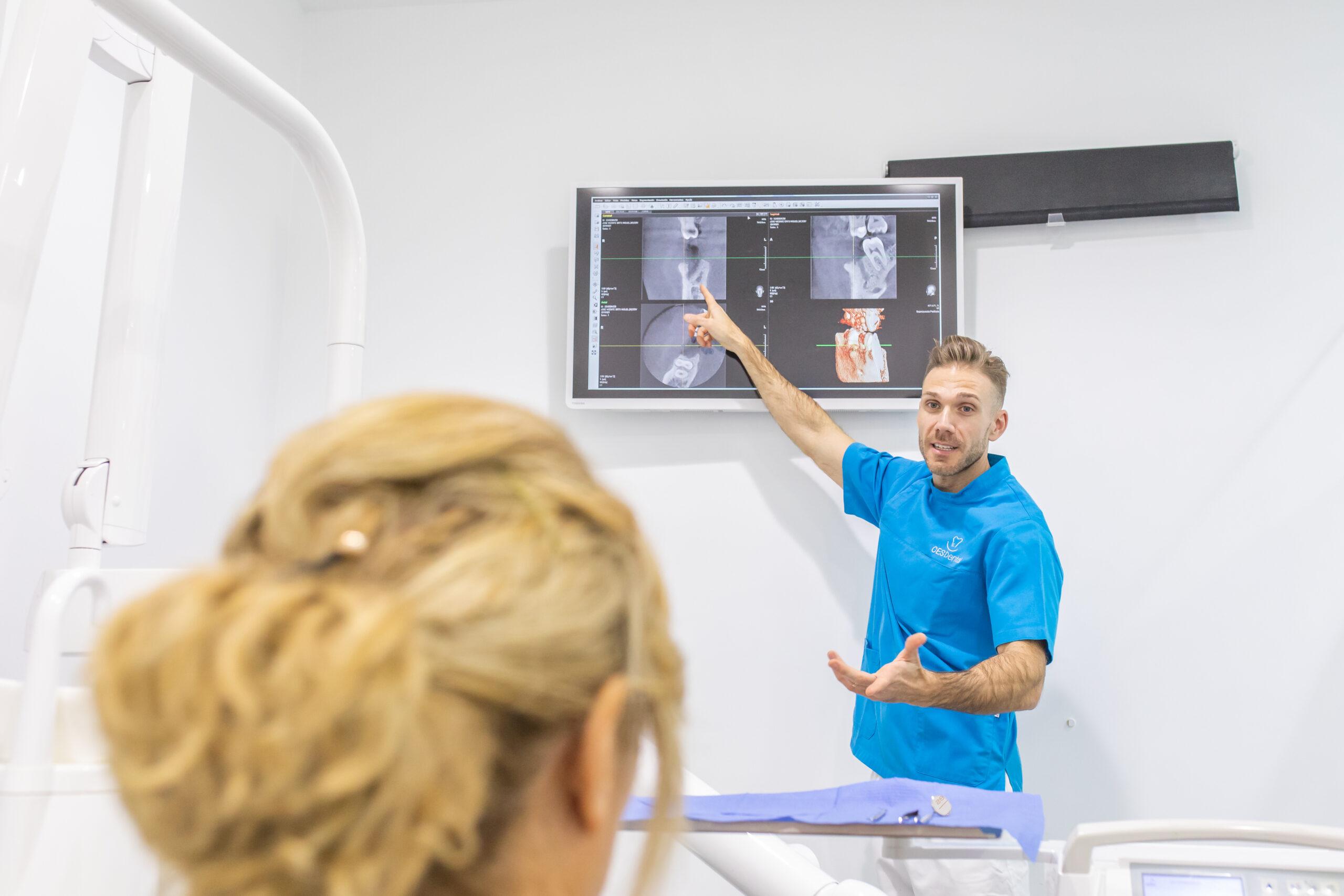 endodoncia en Godella - explicación